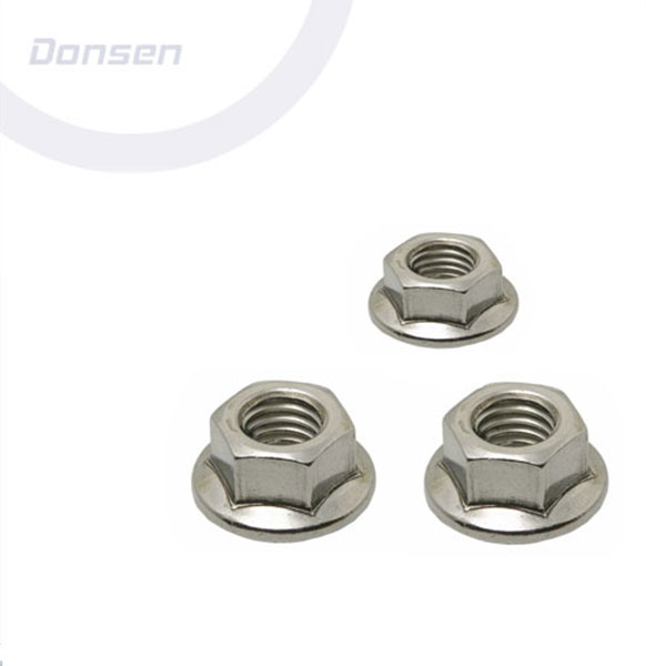 Chinese Professional Hexagon Nuts - Hexagon Flange Nut (Din6923) PlainSerrated – Donsen Featured Image
