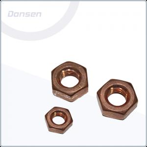 Factory Price For Raised Csk Screw - Copper Hexagon Full Nut (Din934) – Donsen